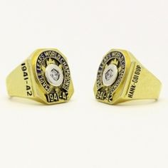 1942 Toronto Maple Leafs Stanley Cup Championship Ring