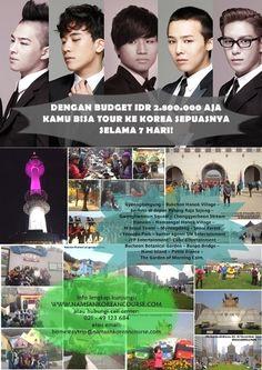 안녕하세요~ Kami membuka pendaftaran #LesBahasaKorea loh, jadwal weekend (MINGGU) pukul 12.00-15.00, dan weekdays (SELASA-KAMIS) pukul 18.00-20.00  SEGERA KUNJUNGI http://namsankoreancourse.com/detail-harga-dan-jadwal-kelas-reguler-namsan-course/  Kami juga ada program tour ke Korea dengan budget super murah loh, hanya Rp 2.800.000!