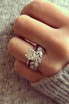 10 Fresh Engagement Ring Trends For 2018 ❤️ engagement ring trends yellow diamond ring unique band pave ❤️ See more: http://www.weddingforward.com/ring-trends/ #weddingforward #wedding #bride #engagementrings Eengagementringstrends