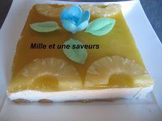 bavarois ananas sans cuisson