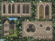 Cyclonesue's Gothic Windows and Doors