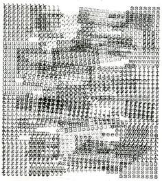 text-mode:  Jiří Kolář: Kurt Schwitters (strojopis), 1964.