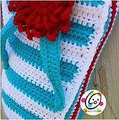 Ravelry: Flip Flop Bag and Pillow pattern by Heidi Yates