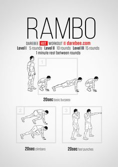Rambo  Workout | Posted by: AdvancedWeightLossTips.com