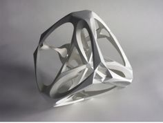 - SCULPTURE -  Richard Sweeney - Tetrahedron  http://www.richardsweeney.co.uk/