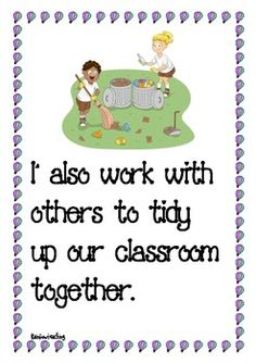 Social Story - Keeping Our Classroom Tidy - Pinned by @PediaStaff – Please Visit ht.ly/63sNtfor all our pediatric therapy pins