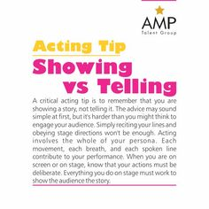 Show your story to the audience!