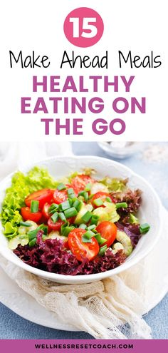 Tops meals for eating on the go. We are all in a hurry and it's helpful to meal prep ahead of time so you always have something healthy to eat on hand. These meals are great for eating on the go, and help you maintain your weight. Planning your meals ahead of time also helps you lose weight and hit your weight loss goals. Get Healthy, Healthy Tips, Healthy Eating, Healthy Recipes, Lose Weight, Weight Loss, Make Ahead Meals, Living A Healthy Life, Cool Things To Make