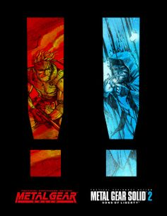 Metal Gear Solid 1! 2!