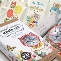 """UNCLE CAT"" 100PCS GIFT CARD SET $10.00   #cat #cats #cutecat #mainecoon #kitties #kittens #kitten #catlover #meow #kitty  Perfect gift for cat lover You get 100pcs of different paper stationary each box! 20 Tags/Bookmarks, 10 Mini Gift Cards, 70 Stickers Use Stickers to decorate your notebook, scrapbook, photo album, flower vase, cupboard, etc! Be Creative! Stickers can be used to seal gifts, gift cards, letters too! Use the tags as gift tags or bookmarks! If you love cats, this is the…"