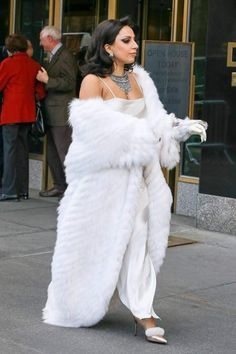 I love Fur and Ladies in Fur Lady Gaga Outfits, Lady Gaga Fashion, Fur Fashion, Fashion Photo, Fashion Outfits, Christina Millian, Lady Gaga Pictures, Female Friends, Denim Outfit