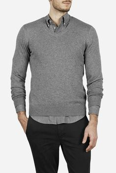 The Knit Pullover V-Neck from Everlane