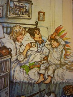 Picture Book Den: A Shirley Hughes Kind Of Christmas by Pippa Goodhart