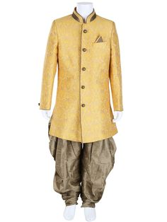 G3 Exclusive Yellow Wedding Wear Raw Silk Boys Indo Western #kidswear #kurtisets #indianwear #kids #IndoWestern #kidsfashion #kidsofinstagram #kidsfashionforall #kidsfashionbook #kidsonlinestore #indiankids #kidsethnicwear #ethnicwear #kidsindianwear #kidsclothing #kidsclothes #kidswithstyle #kidsstyle #boys #love #instadaily #instacool #instafollow #instafashion #fashionista #kidsootd #festivewear