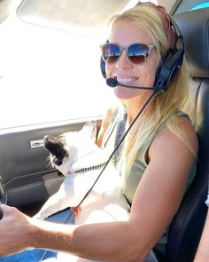 """Alicia Leigh Willis on Instagram: """"LoLa is getting pretty good at this whole flying thing! #aviation #aviationdog #frenchbulldog #frenchiesofinstagram"""" Alicia Leigh Willis, Soap Opera Stars, Pretty Good, French Bulldog, Aviation, Sunglasses Women, Dogs, Instagram, Fashion"""