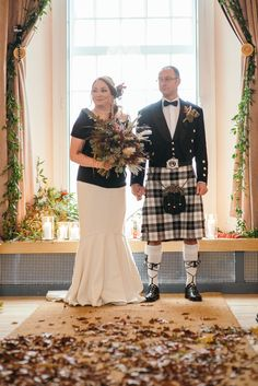 #woolweddingdress #fishtail #quirky #autumn #scottishwedding #tweedweddingdress #cashmereweddingdress Photos by http://www.zoecampbellphotography.com/