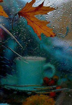 Rainy day in the valley of melancholy ☔ Day melancholy rain rainy valley - cakerecipespins. Autumn Rain, Autumn Cozy, Autumn Leaves, Autumn Morning, I Love Rain, Autumn Aesthetic, Rainy Days, Fall Halloween, Seasons