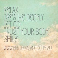 Positivity in birth www.birthinbalance.com.au