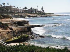 La Jolla Beach, San Diego, CA