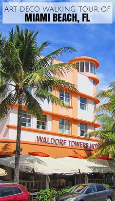 The Waldorf Towers Hotel in Miami Beach, FL. One of Many beautifully preserved art deco buildings in the neighbourhood