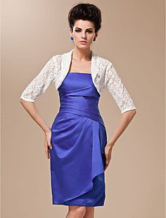 3/4-Length Sleeve Lace Wedding Jacket / Special Occasion Wra... – ILS ₪ 117.25