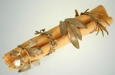 Michael Michaud - Table Art - Herb Napkin Ring Set
