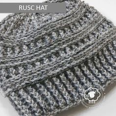 Rusc is a free hat pattern that is rich in texture, and super easy to crochet as it only contains front post and back post stitches. No frustrating slip stitches here. Instructions are included below to turn Rusc into a messy bun hat. I chose to crochet this hat with Lion… Read more...