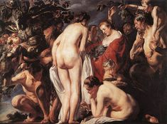 """Allegory of Fertility"" by artist Jacob Jordaens"