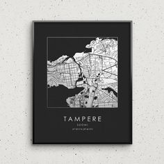Tampere Map Print Gold & Silver Foil Square City Map Wall Art Poster Personalized Gift Idea Travel Home Office Decor Finland by GoldenGraphy Map Wall Art, Wall Art Decor, Business Gifts, Make A Gift, Travel Gifts, Finland, Walls, City, Prints