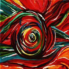 Orgasm by marjacq.art. oil on canvas. 30  x 30 cm. hartopdetong.wordpress.com