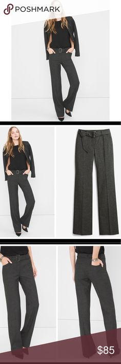 """The Slim boot cut pants Slim or bootcut...why choose? These pants are a hybrid of what you love the most: a slim fit through thigh and a super-flattering bootcut hem. You're welcome. Slim bootcut pants Polyester/viscose/elastane. Machine wash. Length 48"""" Inner Seam 32.5"""" Waist 17.5"""" White House Black Market Pants Boot Cut & Flare"""