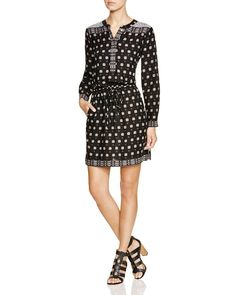 Two by Vince Camuto Foulard Print Dress
