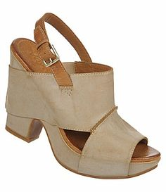 Naya Monroe Casual Sandals leather tan 3.25h (169.00) NA