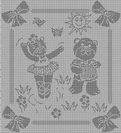 Hobby lavori femminili - ricamo - uncinetto - maglia: filet gattini