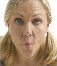 Facial exercises that'll help to slim your face and reduce premature aging #faceyoga