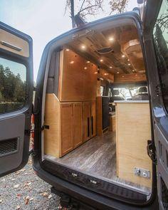 Half Dome - Freedom Vans Van Conversion Interior, Camper Van Conversion Diy, Van Interior, Ford Transit Camper Conversion, Sprinter Conversion, Bus Life, Camper Life, Motorhome, Van Home