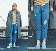 Get this look: http://lb.nu/look/7837110  More looks by Kristina Magdalina: http://lb.nu/user/913504-Kristina-M  Items in this look:  Cndirect Hat, Cndirect Jeans   #casual #minimal #street