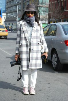 The Best Street Style From New York Fashion Week, Day 4: Karen Blanchard Blogger