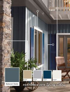 We love Pantone 's Spring 2018 Classic Color Palette and could not wait to put it on a home. Click through to see how you can incorporate Pantone's spring colors on your home.