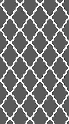 Contemporary Gray Trellis Rug by Designer Area Rug Simple geometric designs help bring any room together. Simple Geometric Designs, Trellis Rug, Rugs In Living Room, Home Projects, Area Rugs, Contemporary, Pattern, Santa Baby, Collection