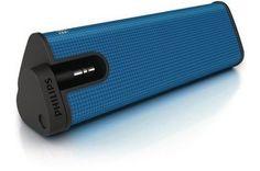 Altavoz para iPod Philips azul $19.70