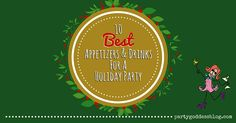 """Marley Majcher, event coordinator in Los Angeles, CA, shares her weekly roundup of """"10 Best Appetizers And Drinks For A Holiday Party""""."""