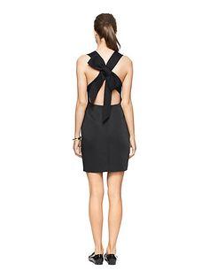 bow back dress - kate spade new york - so pretty!