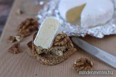 Mindenmentes, vegán camembert sajt (tejmentes, olajos mag mentes) - Nóra mindenmentes konyhája Plant Based, Dairy, Cheese, Food, Essen, Meals, Yemek, Eten