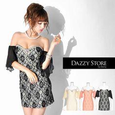 総レース袖つきタイトミニドレス Strapless Dress, Shoulder Dress, Dresses, Fashion, Strapless Gown, Vestidos, Moda, Fasion, Dress