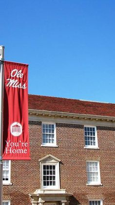 Ole Miss - University of Mississippi Rebels - you're home banner