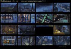 bjarne-h: The Illusionist color script - BG keys End SQ