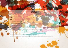 The #namemeaning of #Nolan using Retro Splatter from the project pack Vintage. Unique #giftideas and #personalizedgifts for #babynames
