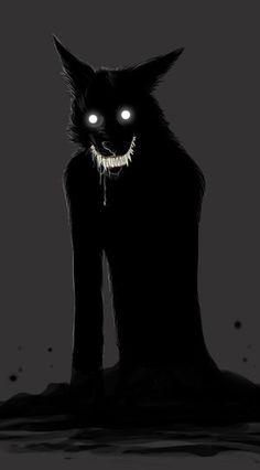 Werewolf art. Super cool.