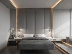 Фрагмент спальни#fedorova_architects#современнаяспальня #современныйстиль #modernbedroom #moderndesign #moderninterior#интерьерывневремени
